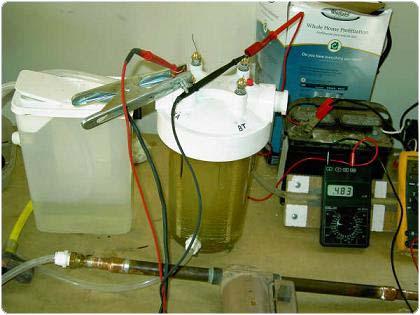hidrcella 2.4.1.11.17. Tekercselektródás vízbontás