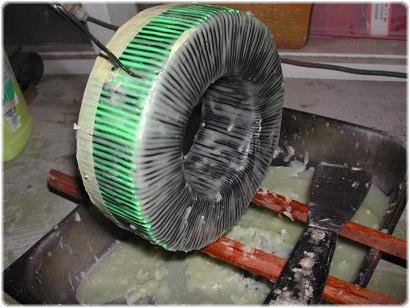 t6 2.4.2.5. A toroid transzformátor tekercselése